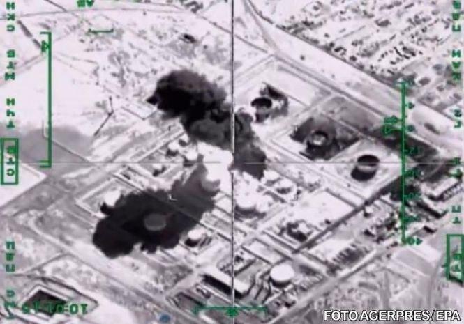 SUA au lansat zeci de lovituri aeriene împotriva Statului Islamic