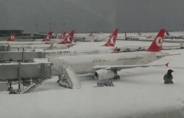 Curse aeriene anulate din cauza vremii