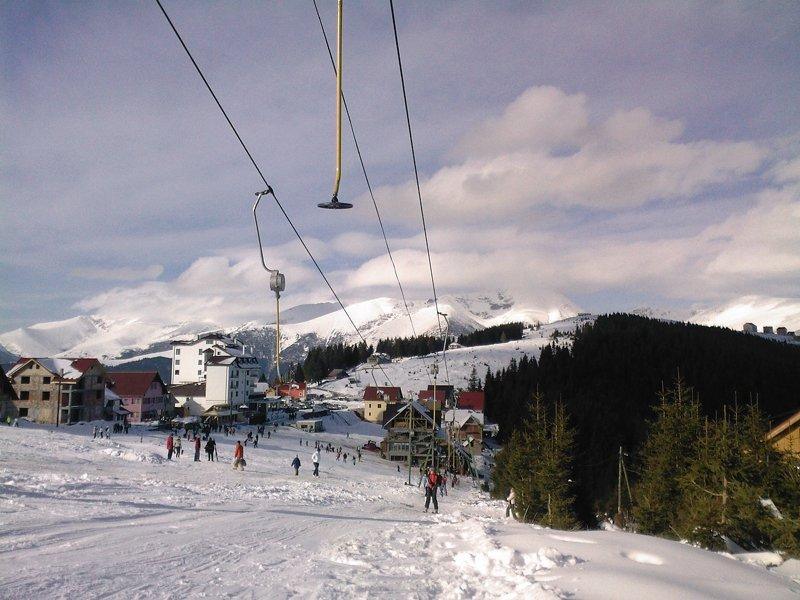Singurele pârtii din România pe care se poate schia de Revelion