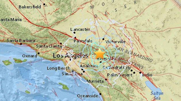 Un cutremur de suprafaţă s-a produs în California