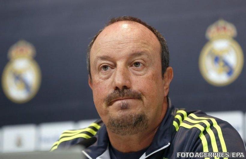 Rafa Benitez, dat afară de la Real Madrid. În locul lui va fi numit Zinedine Zidane