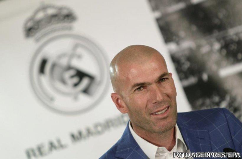 Zinedine Zidane, noul antrenor al echipei Real Madrid