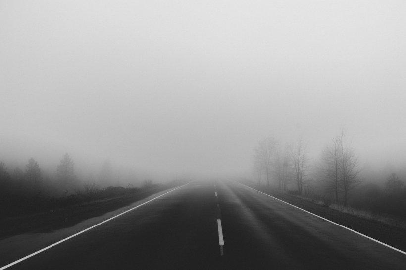 Trafic îngreunat pe A1 Bucureşti - Piteşti din cauza ceții. Poliția avertizează că noaptea se pot forma pelicule de gheață pe carosabil
