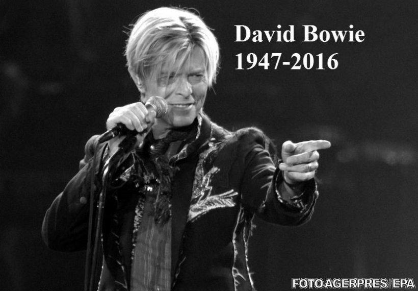 Artistul britanic David Bowie a murit