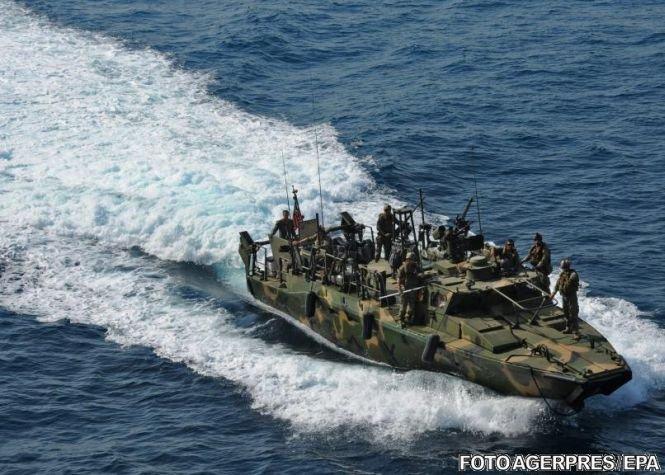 Nave de război americane interceptate în Iran. Ce s-a întâmplat cu echipajul