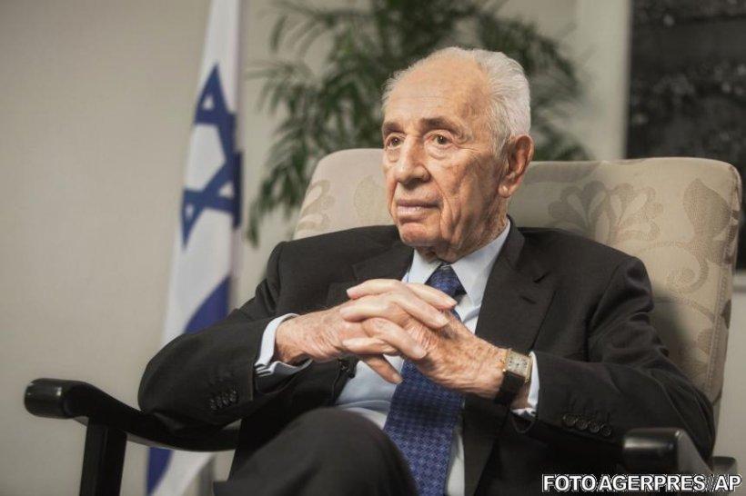 Fostul preşedinte israelian Shimon Peres, spitalizat în urma unui atac de cord