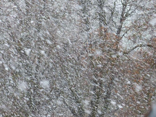 Cod portocaliu de ninsori și viscol, de la ora 13. Vezi zonele vizate