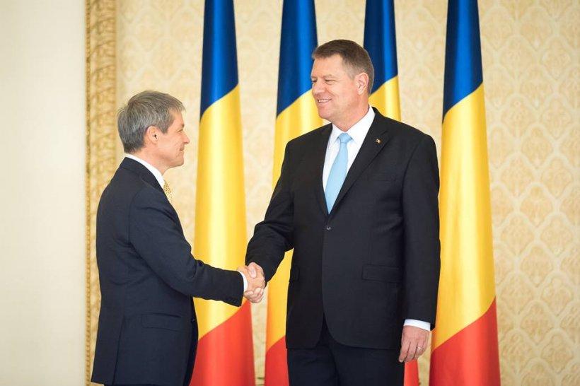 Preşedintele Klaus Iohannis şi premierul Dacian Cioloş, întâlnire la Palatul Cotroceni