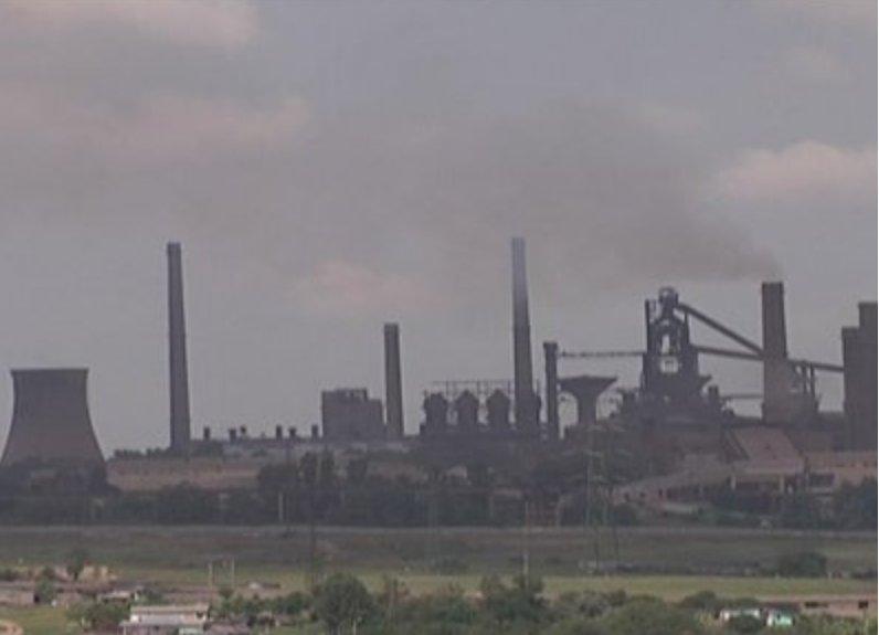 Galaţi: Protest la combinatul siderurgic