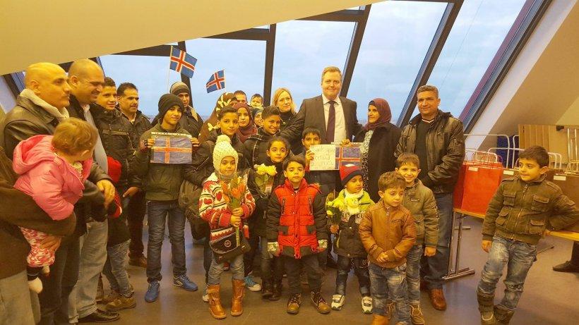 Refugiați sirieni au ajuns, în premieră, în Islanda. Care au fost primele lor cuvinte