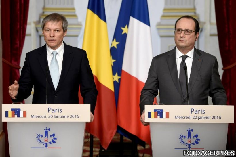 Hollande: Lucrăm împreună pentru a facilita aderarea României la Schengen cu spaţiul aerian