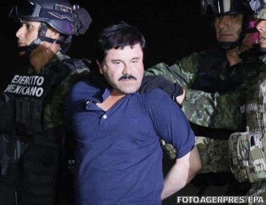 """Lordul drogurilor e protejat. Mâncarea lui """"El Chapo"""" în închisoare, gustată de un câine pentru a se evita otrăvirea sa"""