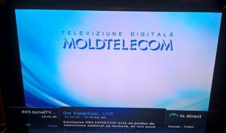 Șapte posturi TV din R. Moldova au fost blocate. Operatorul național dă vina pe atacuri cibernetice