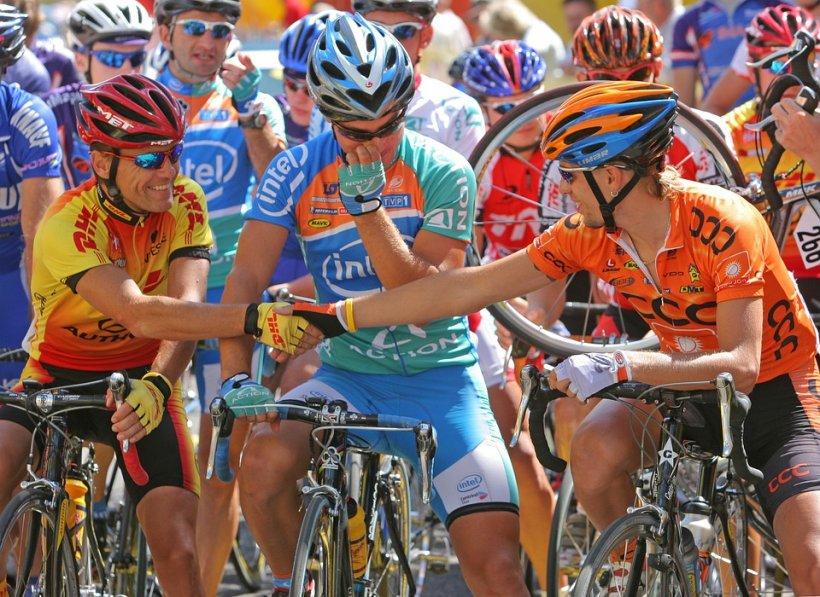 Ciclistul Eduard Grosu, al șaselea în etapa a cincea din Turul San Luis