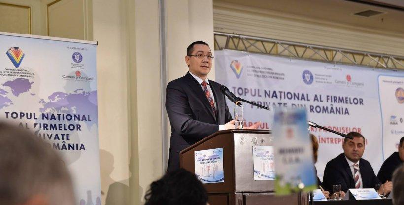 """Victor Ponta, sfaturi privind economia României. """"Este clar că este direcția corectă"""""""