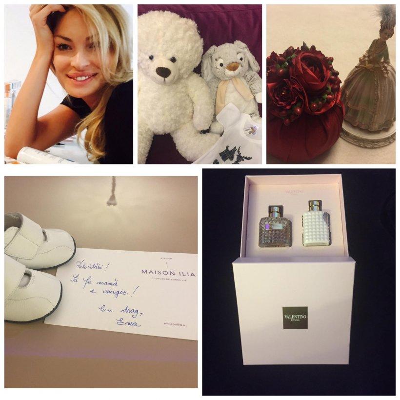 Valentina Pelinel a primit primul cadou pentru copilul pe care il va avea cu Borcea