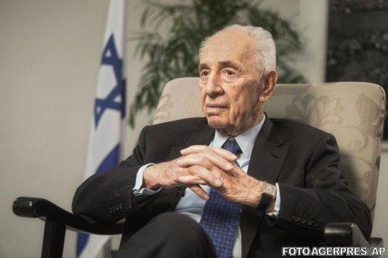 Fostul preşedinte israelian Shimon Peres, spitalizat din nou, la zece zile după un atac de cord
