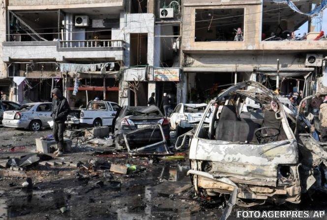 Atac sângeros în Siria. 22 de persoane au murit