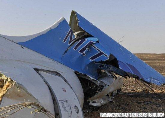 """Avion rus prăbuşit în Egipt. Un angajat EgyptAir, suspectat că """"a plantat"""" bomba care a ucis 224 de oameni"""