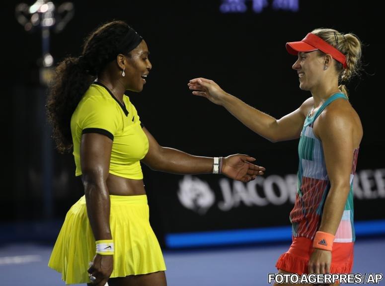 Angelique Kerber se impune la Australian Open, în finala cu Serena Williams. Simona Halep pierde locul 2 WTA
