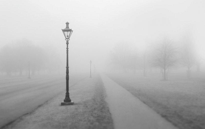 Cod galben de ceață în București și în mai multe județe ale țării