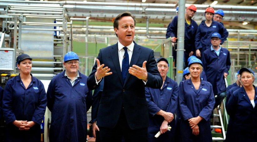 David Cameron se întâlnește cu președintele Consiliului European la Londra. Discuții privind posibila ieșire din UE a Regatului Unit