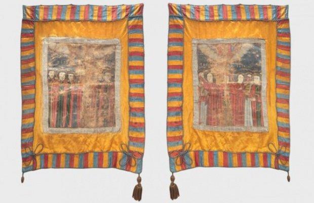 Cine a cumpărat drapelul de luptă al lui Avram Iancu, vândut la licitație de familia lui Vadim Tudor