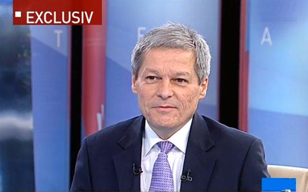Dacian Cioloș, invitat la Antena 3
