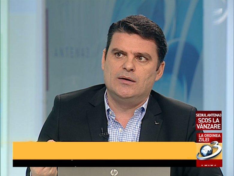 Radu Tudor: Antena 3 își va opri emisia