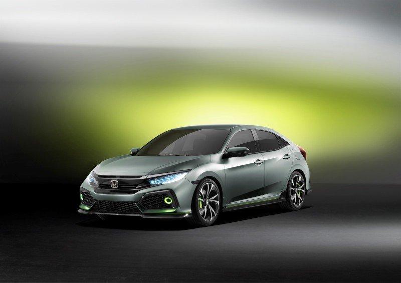 Honda lansează prototipul celei de-a zecea generaţii Civic - GALERIE FOTO