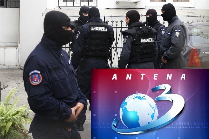 Intervenție a jandarmilor la Antena 3. Ce a pățit prezentatoarea știrilor în direct