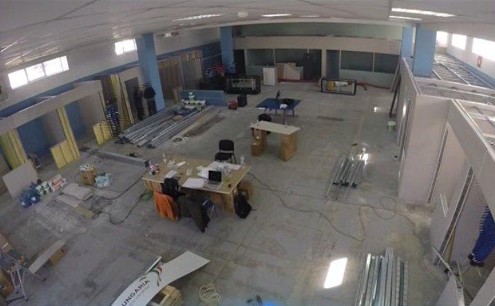 A început mutarea televiziunilor Intact - imagini în premieră cu viitoarele studiouri
