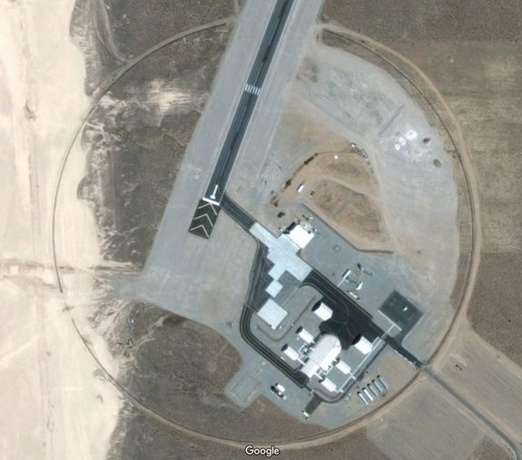 O zonă misterioasă a fost făcută publică cu ajutorul Google Earth. Ce testează aici în mare taină americanii