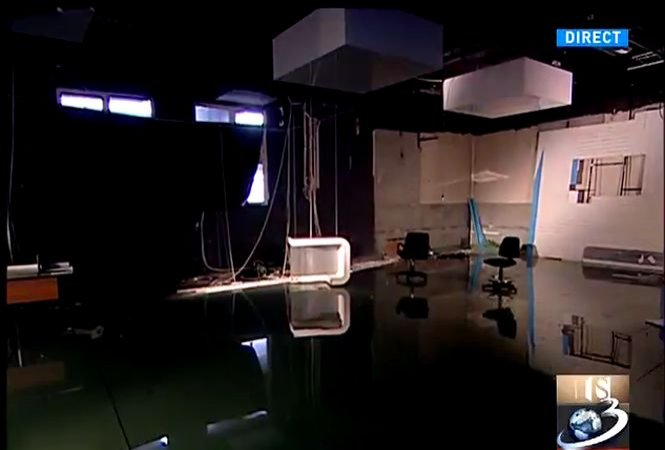 Evacuarea Antena 3 - pas cu pas