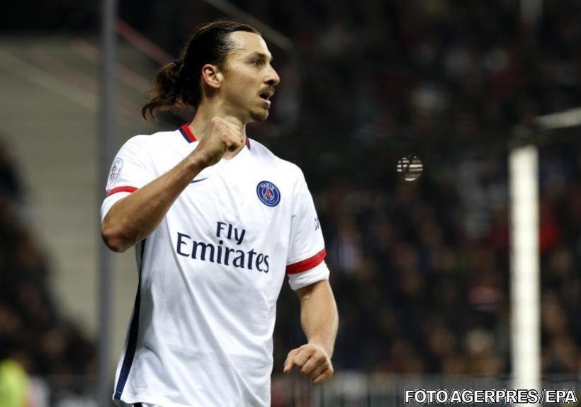 Premieră în lumea fotbalului. Guvernul chinez îi oferă un contract astronomic lui Zlatan Ibrahimovic