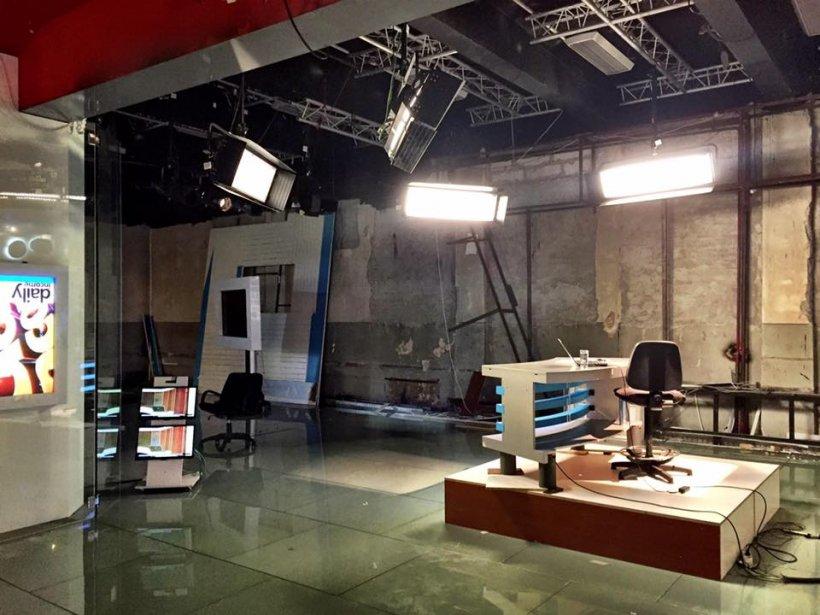 FOTO. Ce a mai rămas din sediul vechi al Antena 3