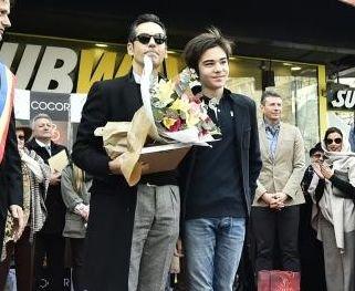 """Cum arată fiul lui Ștefan Bănică Junior. Are 14 ani și este la fel de înalt ca tatăl său. """"Superb copil e Radu"""" FOTO"""