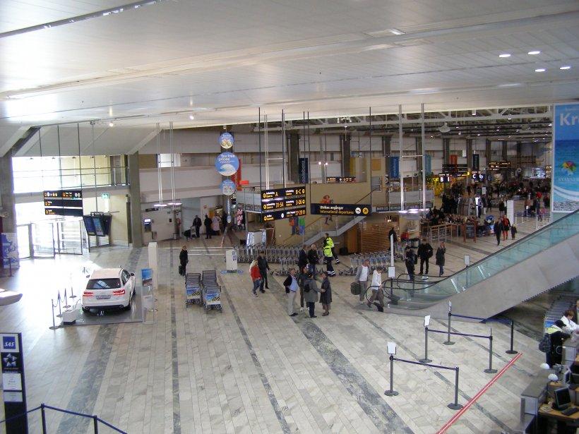 Alertă cu bombă pe un mare aeroport din Suedia