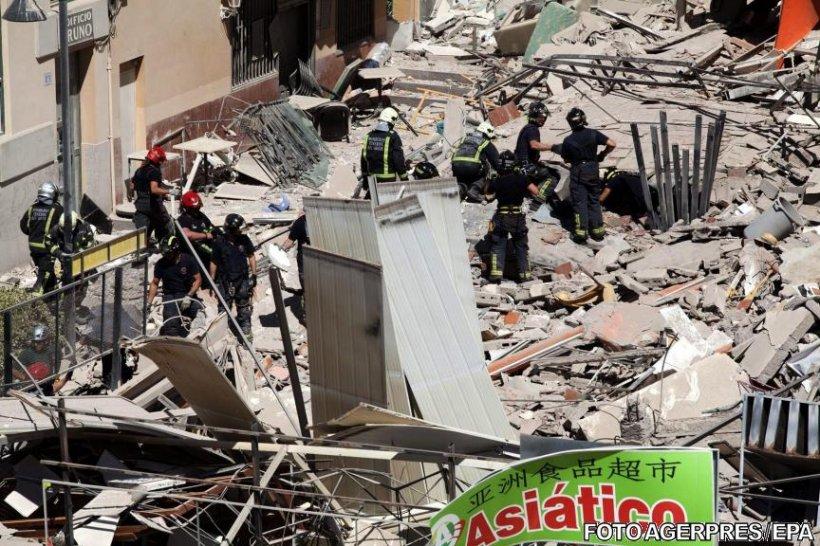 Doi morți și nouă dispăruți după prăbușirea unui imobil în Tenerife