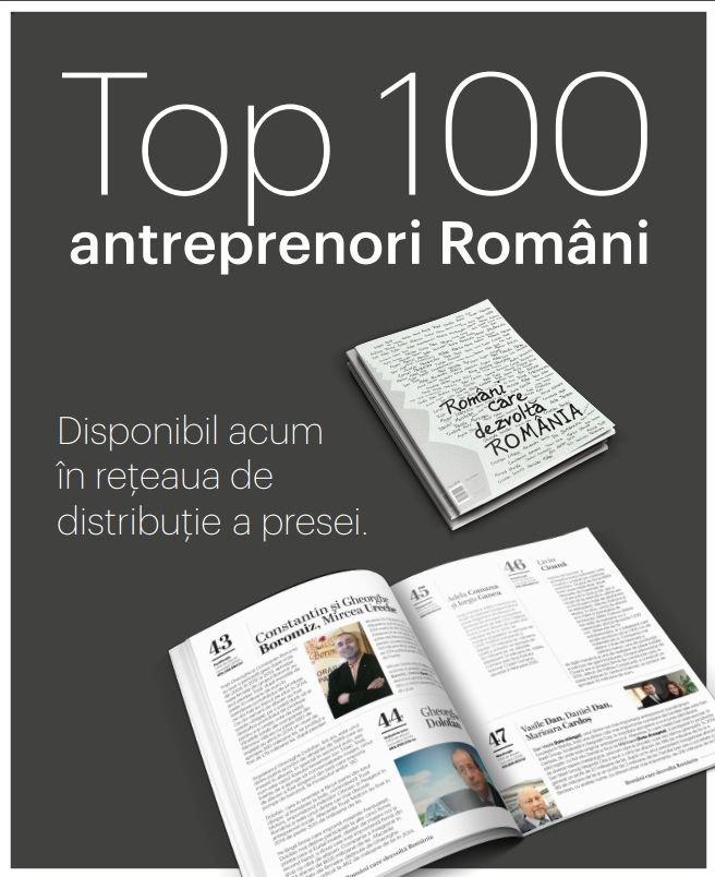 """Intact Media Group lansează catalogul celor mai puternici o sută oameni de afaceri din țară, """"Români care dezvoltă România"""""""