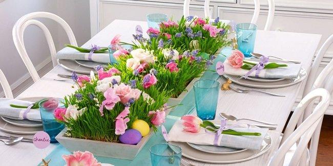 PAȘTI. Idei de amenajare și decorare a mesei festive
