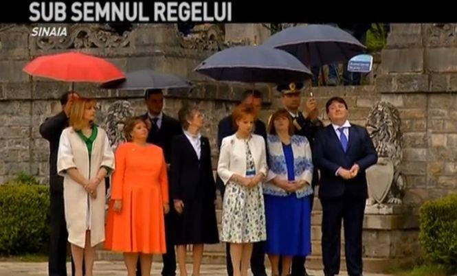 În premieră. Ziua Regalității, la Castelul Peleș din Sinaia: Imagini de la fastuoasa ceremonie
