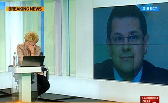 Dana Grecu, a izbucnit în direct: ''E o aberație, domnule parlamentar!''