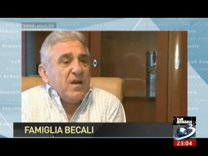 CaN România. Famiglia Becali