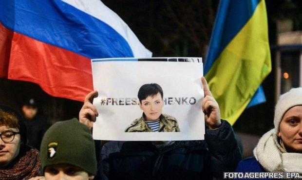 Nadia Savcenko a fost eliberată, într-un schimb de prizonieri între Ucraina şi Rusia