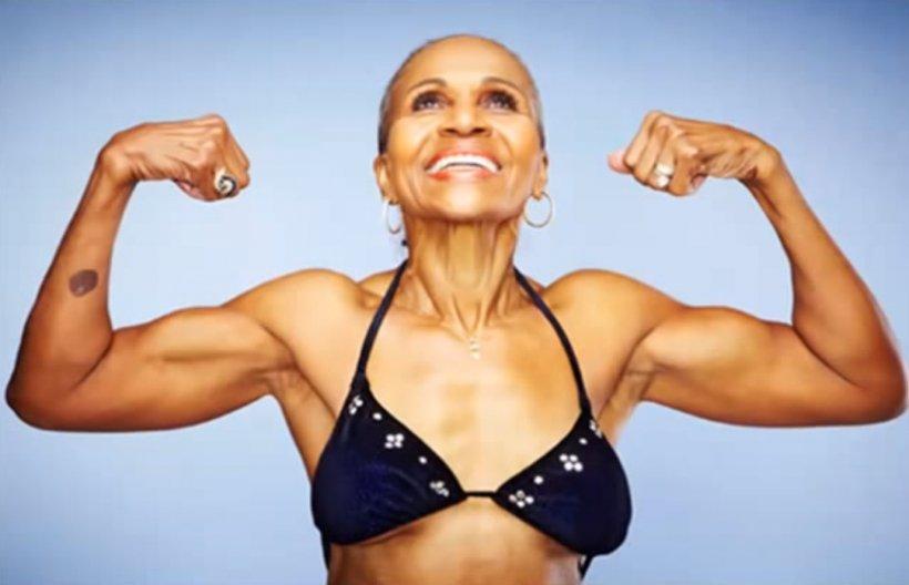 Femeia asta are 80 de ani! Afla ce face zi de zi pentru a se mentine in forma!