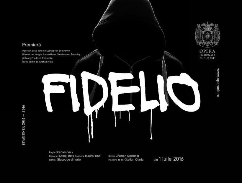 """O nouă montare aparținând regizorului Graham Vick are premiera pe scena Operei Naționale București: """"Fidelio"""", operă de Ludwig van Beethoven  1 iulie 2016, ora 19:00"""