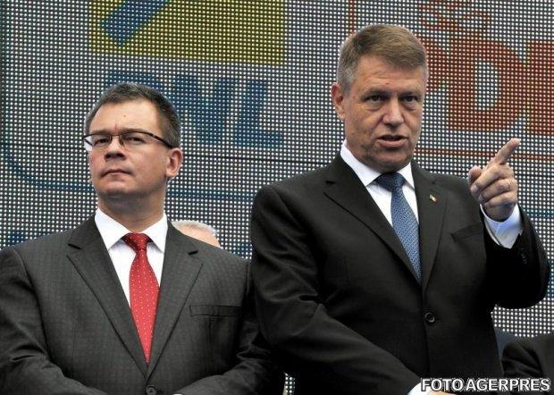 Scandal între Klaus Iohannis şi directorul Serviciului de Informații Externe, Mihai Răzvan Ungureanu. De la ce a pornit totul