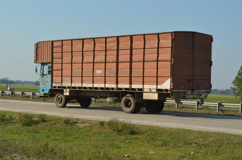 Ce a descoperit un şofer de camion român în remorca vehiculului său. A anunțat rapid Poliția