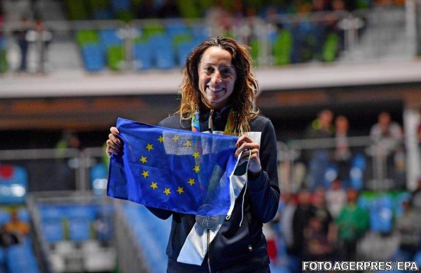 Gestul făcut de o sportivă italiană la Rio. S-a urcat pe podium și toată lumea a încremenit de uimire